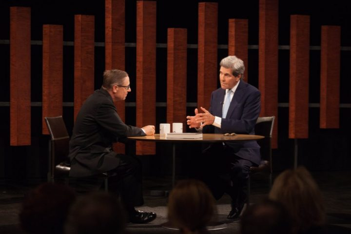Evan Smith interviews John Kerry